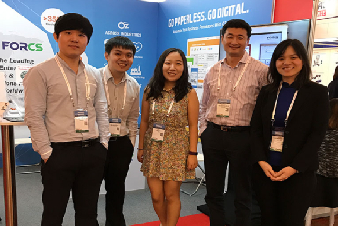FORCS Singapore team at Communicasia 2017