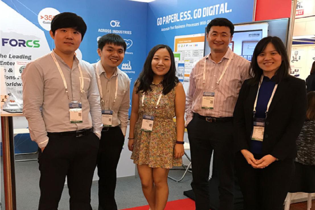 FORCS Singapore team at Communicasia 2017