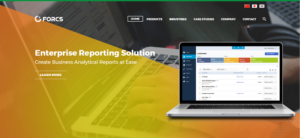 Enterprise reporting solution on FORCS new website