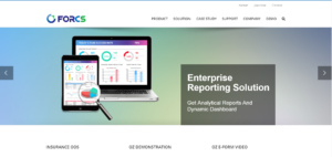 Enterprise reporting solution on FORCS old website