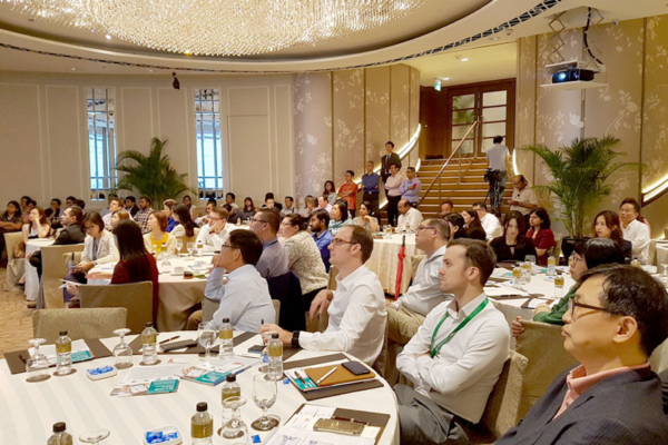 Guests seated at the ballroom, FORCS FinTech Conference 2017