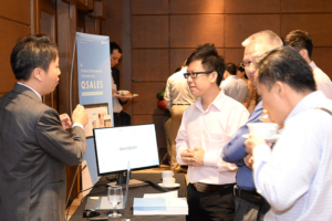 Tripath booth at FORCS FinTech Conference 2017