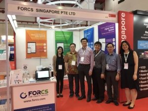 FORCS with partner at Communic Indonesia 2017