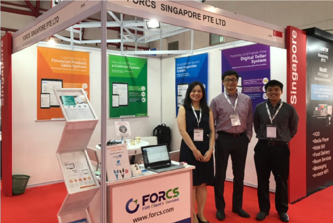 FORCS team at Communic Indonesia 2017