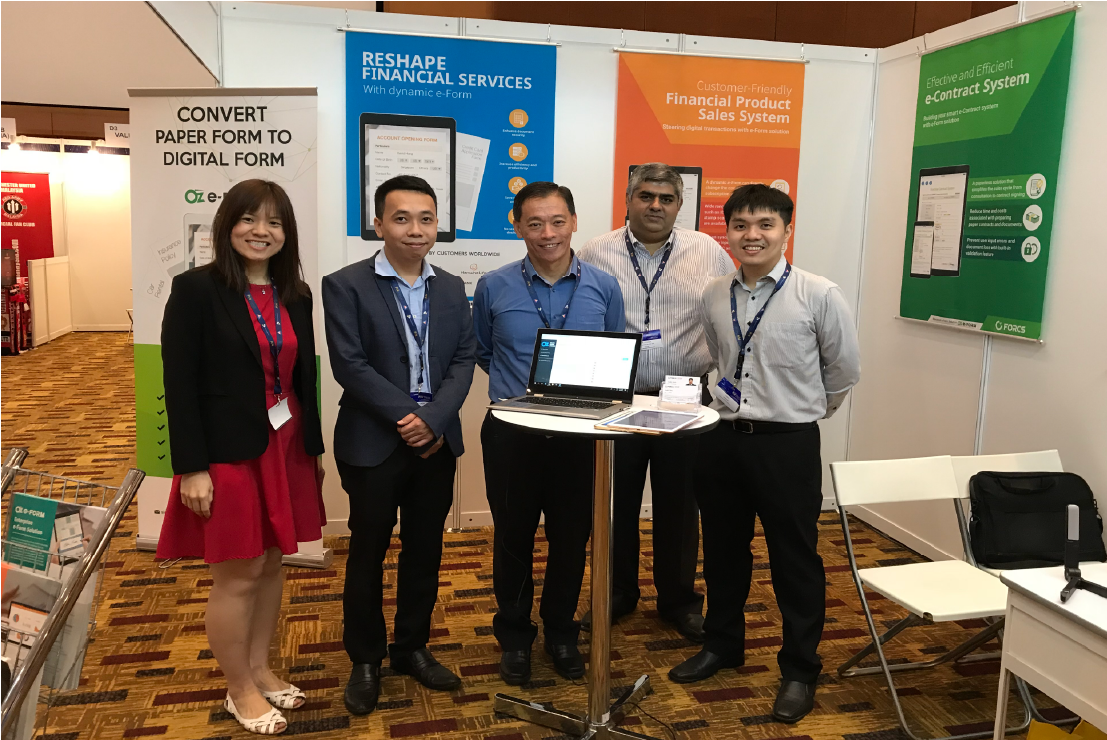 FORCS at Fintech Expo Malaysia 2018