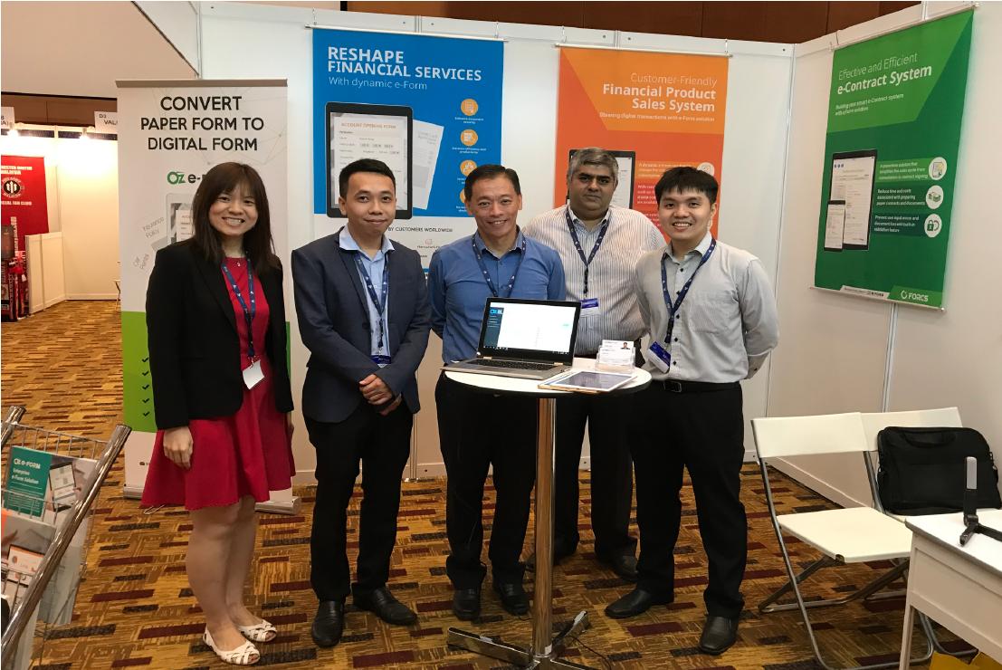 FORCS at Fintech Expo Malaysia 2018