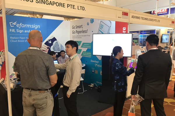 FORCS booth at ConnecTechAsia 2018