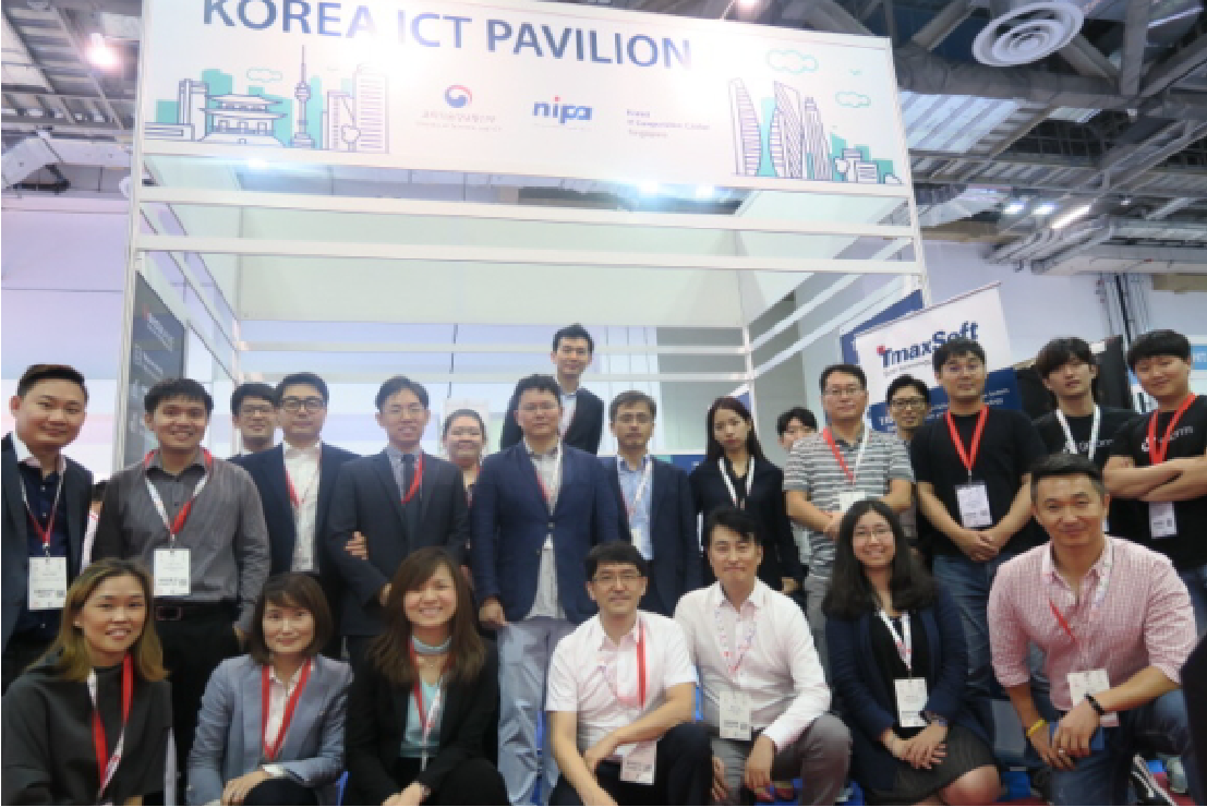 Korea ICT Pavillion at Cloud Expo Asia 2018