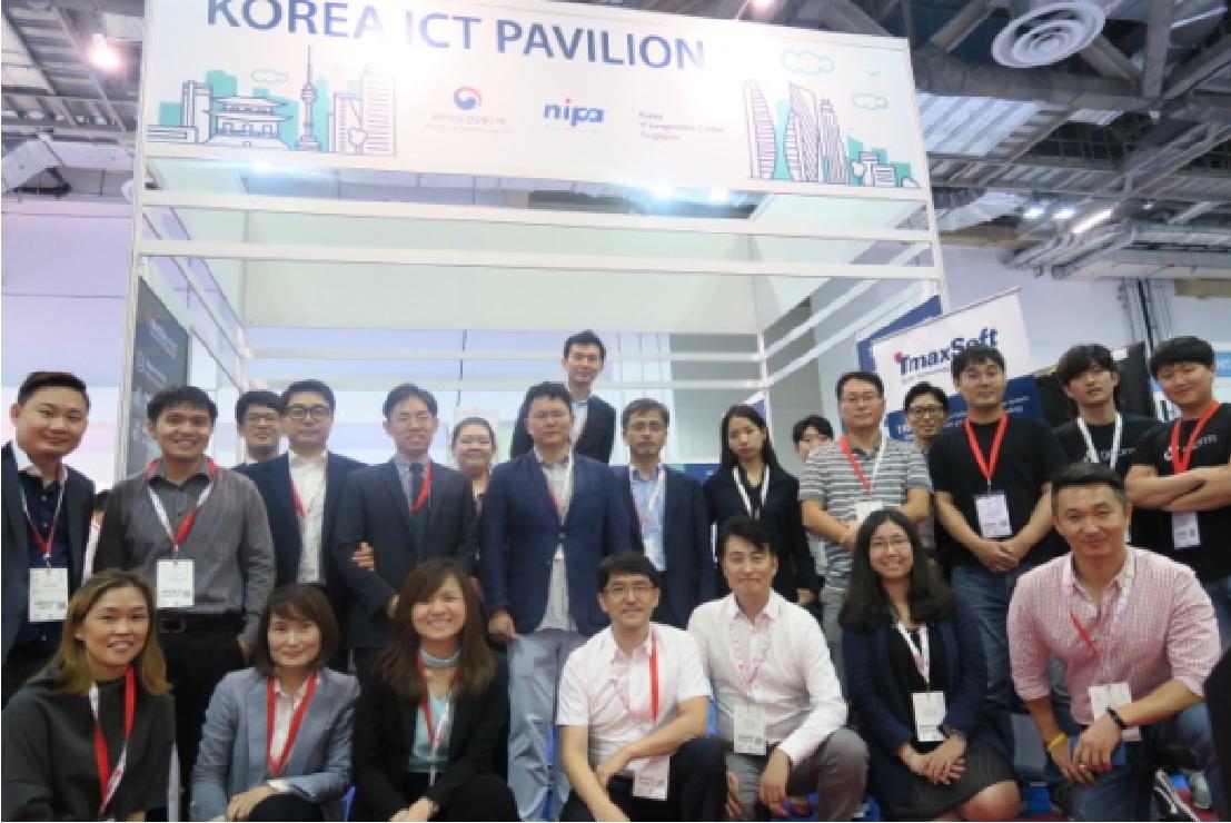Korea ICT Pavillion at Cloud Expo Asia 2018