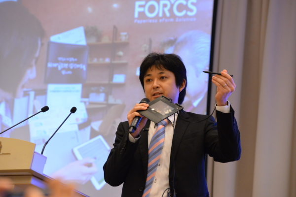 Genki, Sales Manager of Wacom Business Solutions