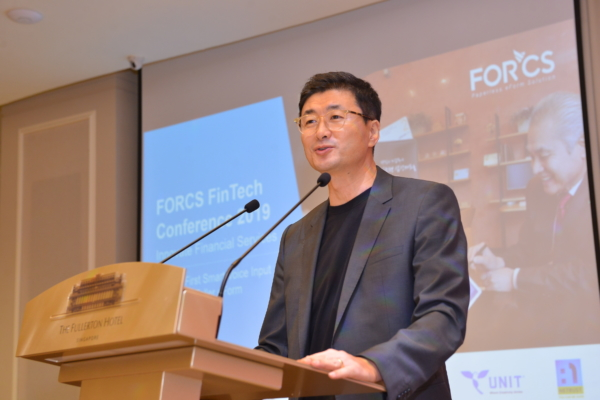 Opening speech by Mickey Park