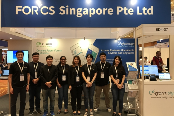 FORCS booth at ConnecTechAsia 2019