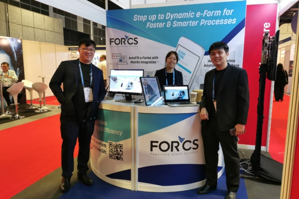 Govware 2019 FORCS booth
