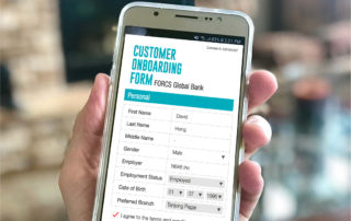 Access Customer Onboarding e-Form on mobile