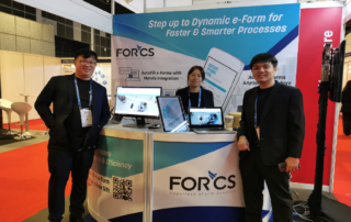 FORCS booth at Govware 2019