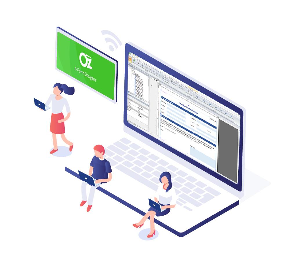 Smart e-Form designer