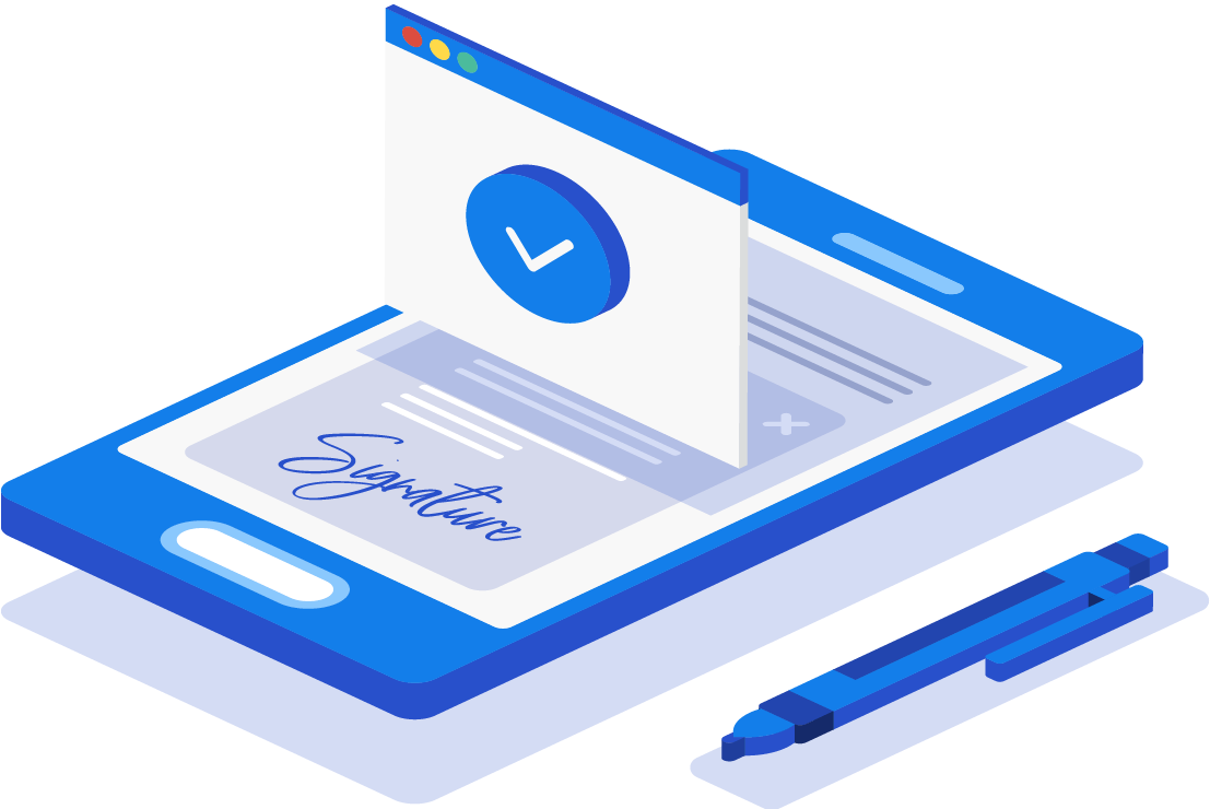 Batch signing with digital signature on mobile device
