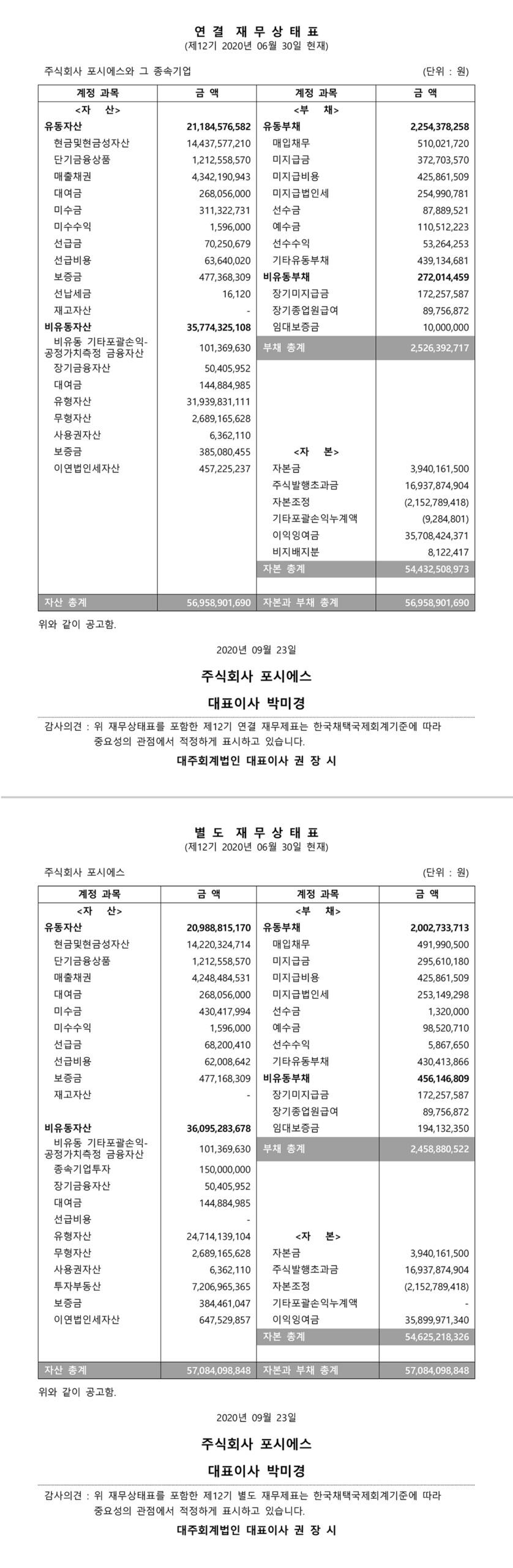 20200923-제12기 주주총회 결산공고